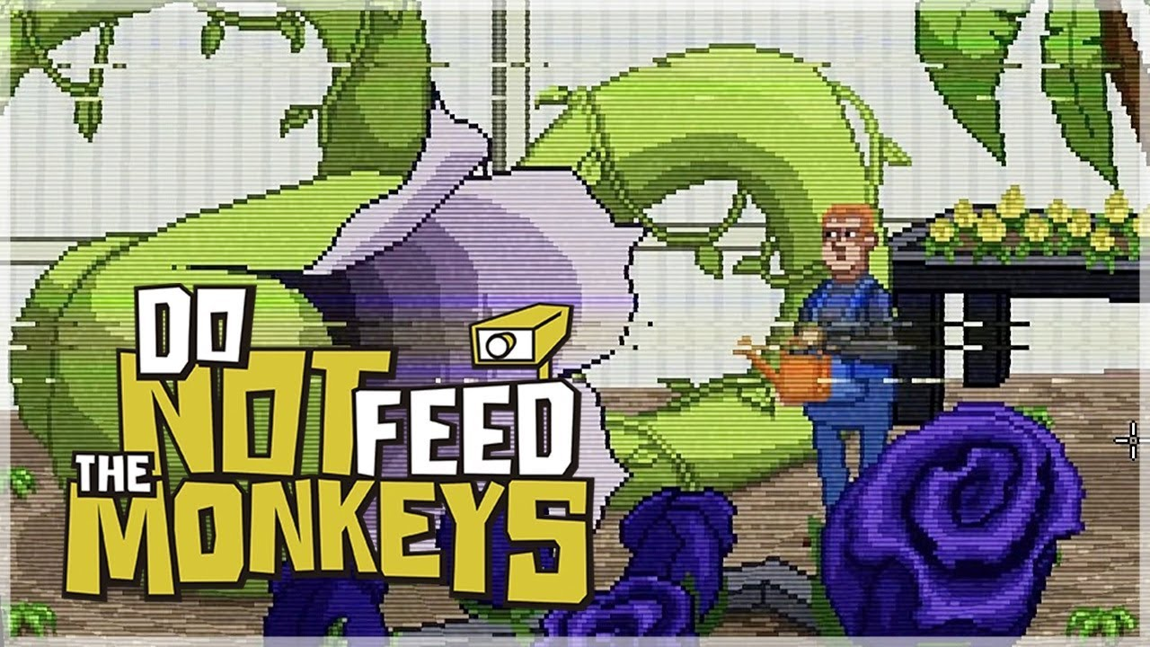 『請勿餵食猴子 』巨大豌豆植物!這是什麼詭異生物! - YouTube