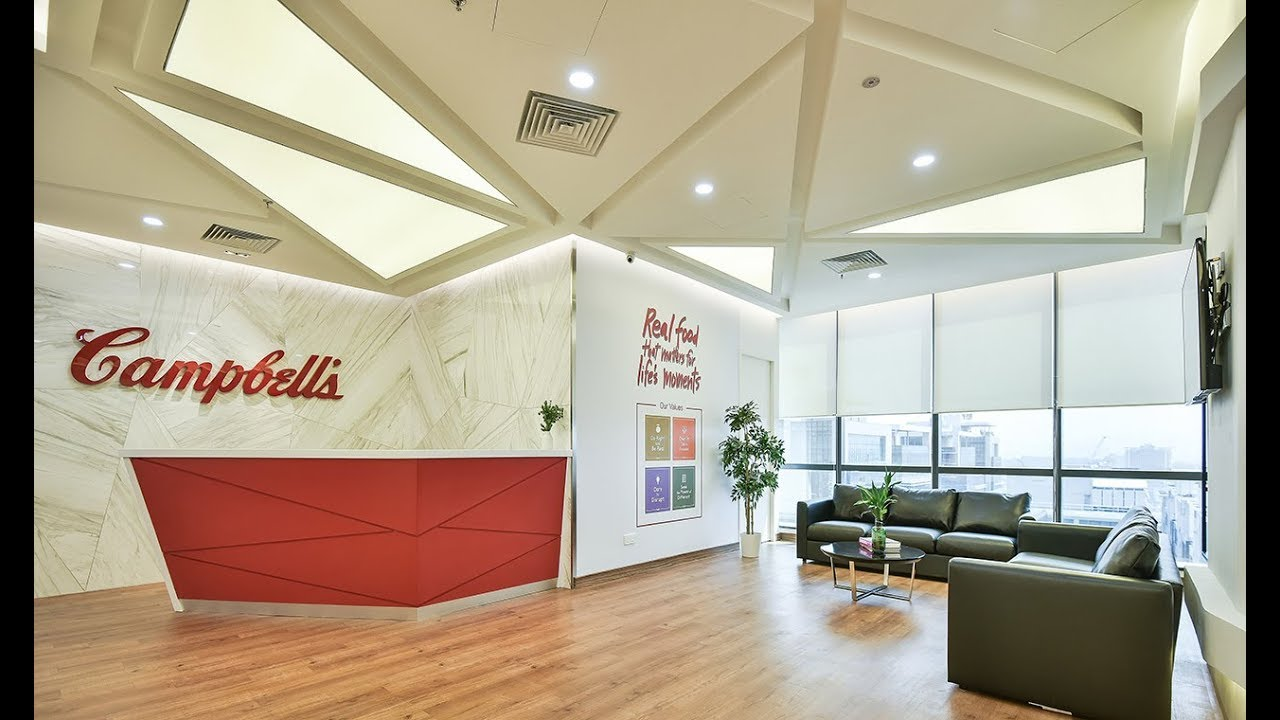 Campbell's New Corporate Office - Design & Build by Konan Design