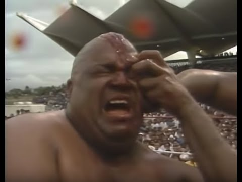WWC: Carlos Colón vs. Abdullah The Butcher - Vengeance Match (1986)