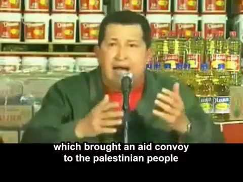 The President Of Venezuela Damns The State Of Israel | Chavez Exposing Israel & the U.S.
