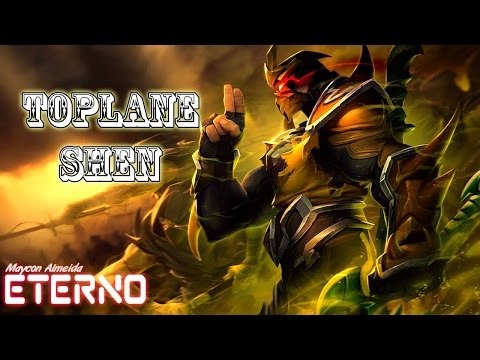 SHEN TOP GAMEPLAY - League of Legends