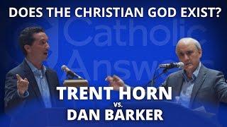 Does the Christian God Exist? Trent Horn vs. Dan Barker Debate