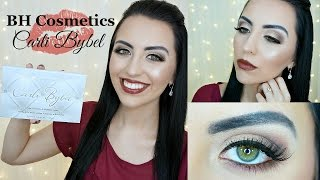 bh cosmetics carli bybel palette   review swatches demo
