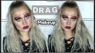 Mein 1. Mal DRAG Makeup | Blond_Beautyy