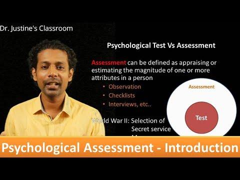 Psychological Testing: Introduction || NET (psychology) || Dr.Justine's Classroom