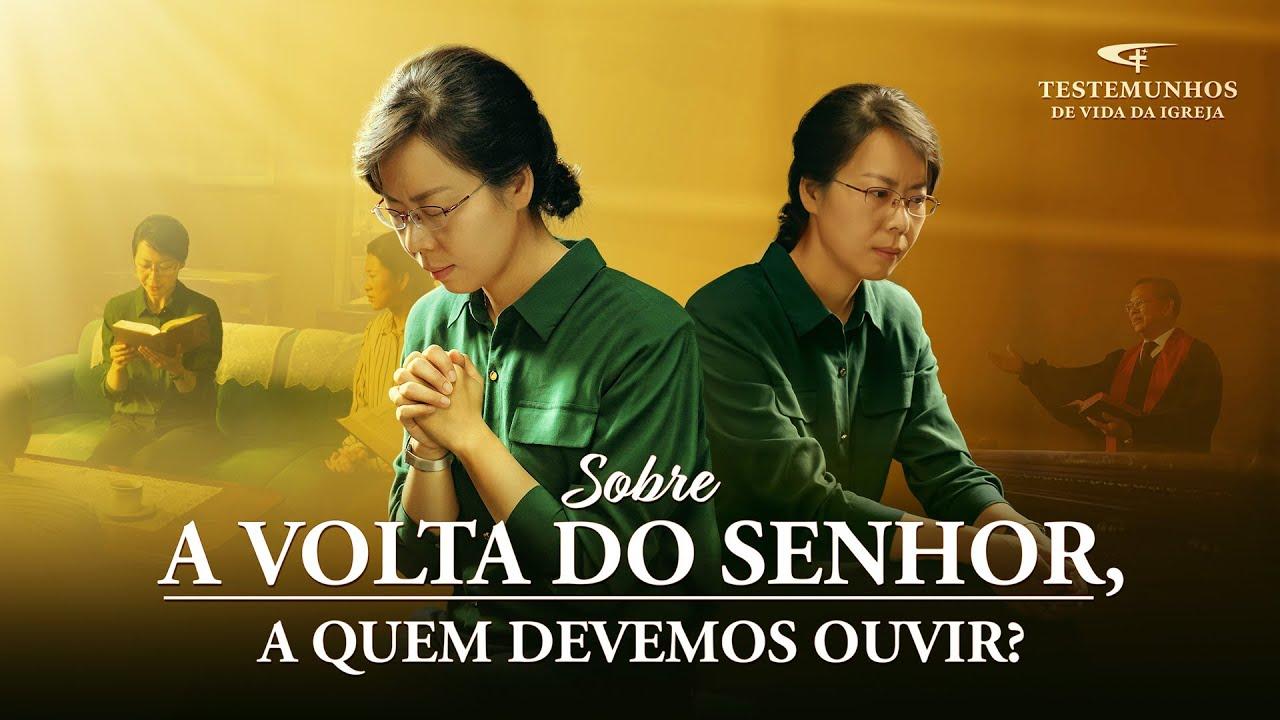 """Testemunho de fé """"Sobre a volta do Senhor, a quem devemos ouvir?"""""""