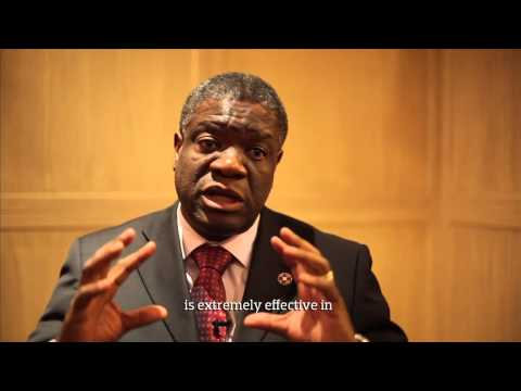 Dr Mukwege interview on rape in conflict zones in the DRC by Congo Connect