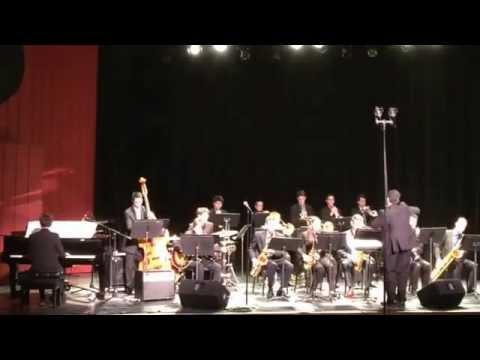 Nassau Suffolk Jazz Band. Ran Kan Kan. CW Post Tilles Center. 1/31/15
