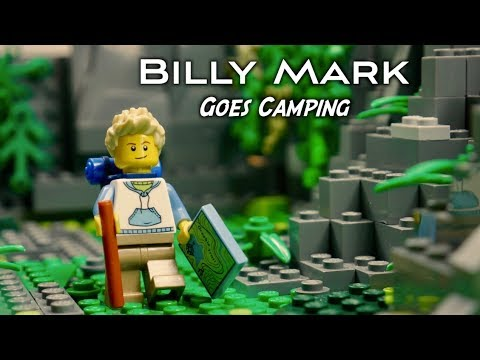 Billy Mark Goes Camping | Amazing Lego Stop Motion Short Film
