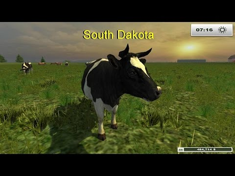 Let's Play Farming Simulator 2013 South Dakota (modded)  EP 1