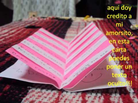 Cartas para regalar youtube for Cosas especiales para regalar