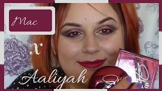 💄Mac x Aaliyah Collection Review and Demo💄