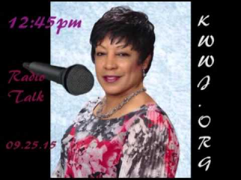 Min. Pat Holmes on Gospel 1360 on Friday 9/25/15