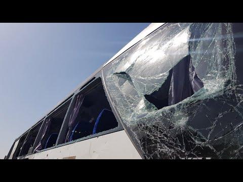مصر: جرحى في انفجار استهدف حافلة سياح قرب الأهرام  - نشر قبل 35 دقيقة