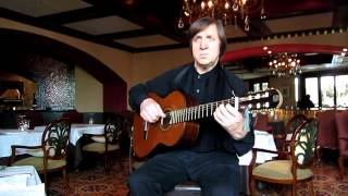 Siboney. Classical guitar.