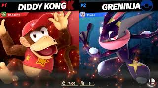 Super Smash Bros  Ultimate   Diddy Kong Road to Elite Part 1/10