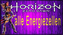 Horizon Zero Dawn alle Energiezellen ps4 Gameplay Deutsch Guide