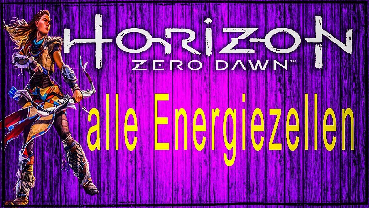 Horizon Zero Dawn Karte Energiezellen.Horizon Zero Dawn Alle Energiezellen Ps4 Gameplay Deutsch Guide