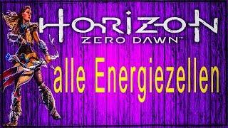 Horizon Zero Dawn Energiezellen / Schildweberin / Fundorte / Ps4 / German Deutsch