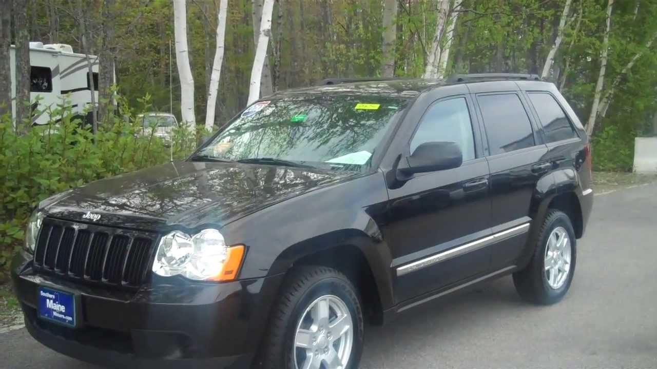 used 2010 jeep grand cherokee laredo 8674 southern maine. Black Bedroom Furniture Sets. Home Design Ideas