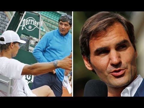 Roger Federer Rafael Nadal had THIS amazing chat with coach Toni before facing Federer