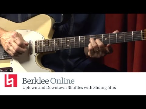 Blues Guitar Lesson: Uptown And Downtown Shuffles With Sliding 9ths