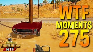 PUBG Daily Funny WTF Moments Highlights Ep 275