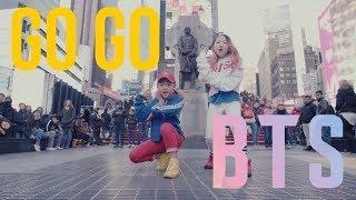 Video [KPOP IN PUBLIC CHALLENGE NYC] GO GO (고민보다 Go) | BTS (방탄소년단) by I LOVE DANCE KIDS download MP3, 3GP, MP4, WEBM, AVI, FLV Agustus 2018