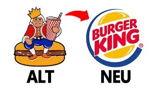 Berühmte Logos FRÜHER & HEUTE