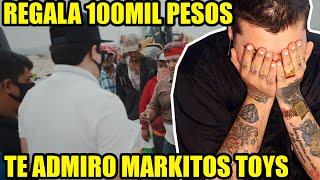 ARGENTINO REACCIONA A MARKITOS TOYS - REGALANDO 100 MIL PESOS