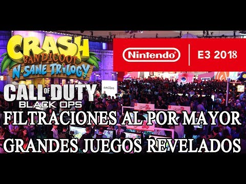 FILTRACIÓN DE JUEGOS DE SWITCH PARA EL E3 2018 - CALL OF DUTY Y CRASH BANDICOOT EN SWITCH