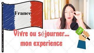 LA FRANCE. VIVRE OU  ̶s̶u̶r̶v̶i̶v̶r̶e̶  SEJOURNER  LaRusseDePACA