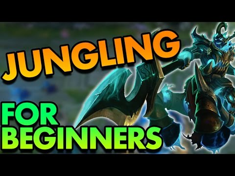 BEGINNER'S GUIDE TO JUNGLING (HECARIM BASIC JUNGLE GUIDE) - League of Legends