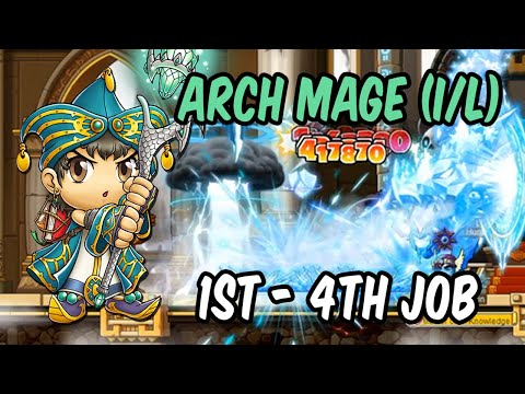 MapleStory's Ice/Lightning Arch Mage (1st - 4th Job) - Frosty the Magician