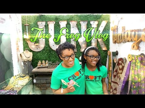 The Frog Vlog: Antique Mall Treasure Hunt - Doll - Art and Craft Ideas