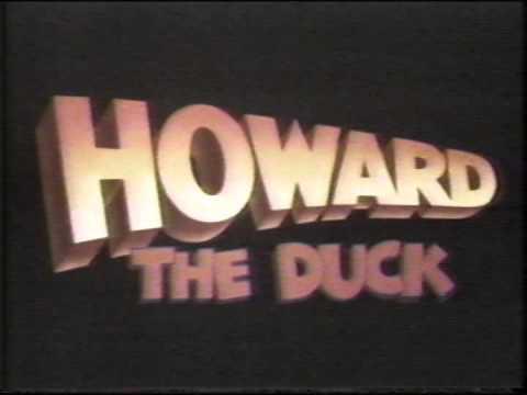 Howard the Duck Orginal Movie Trailer