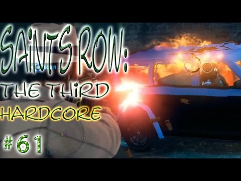Saints Row: The Third ➲ Hardcore # 61 ➤ Stop All The Downloading ➤ Hack The Deckers!