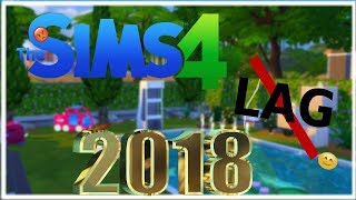 HOW TO MAKE THE SIMS4 RUN FASTER 2018 WITH NO LAG (WORKS)
