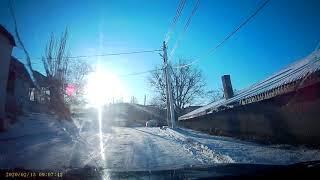 Село Лучистое - солнечный снег февраля .
