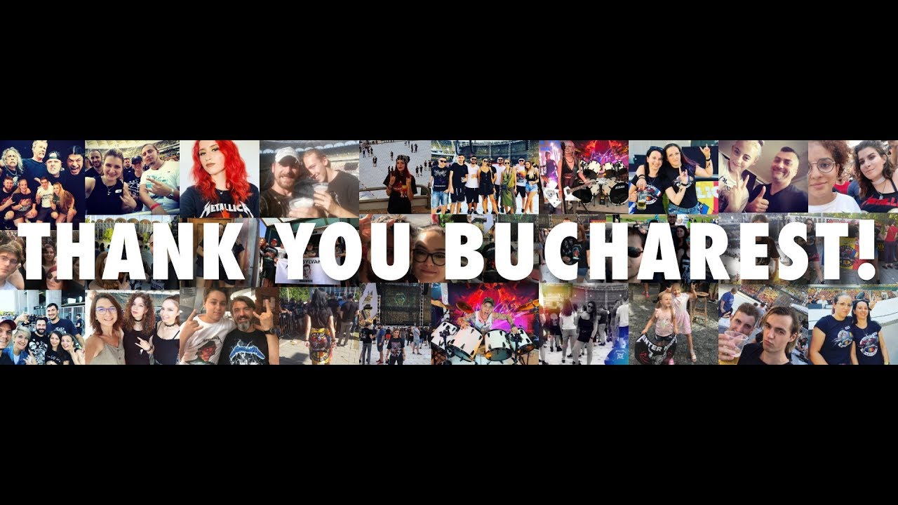 Metallica: Thank You, Bucharest!