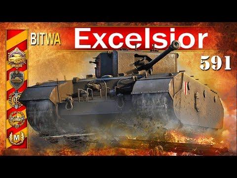 Excelsior - szybkie fragowanie - BITWA - World of tanks