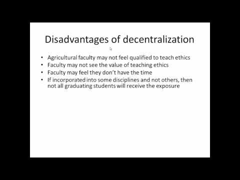 Ethical Issues In Agricultural Production And Education - David KNAUFT