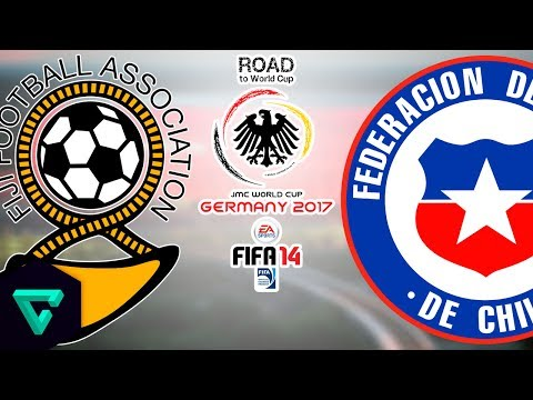 Fiji vs. Chile | 2nd Leg | CONMEBOL-OFC | Road To World Cup Germany 2017 | FIFA 14