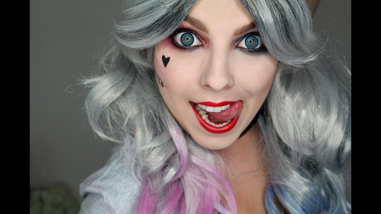 Harley Quinn Suicide Squad Halloween Tutorial Youtube