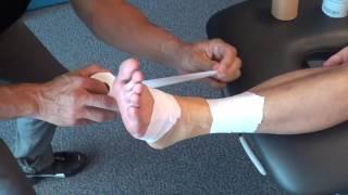 Taping Athlétique de la Cheville - Accès Physio