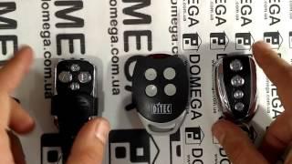 Пульт для шлагбаума и ворот DiTEC. Инструкция и обзор.