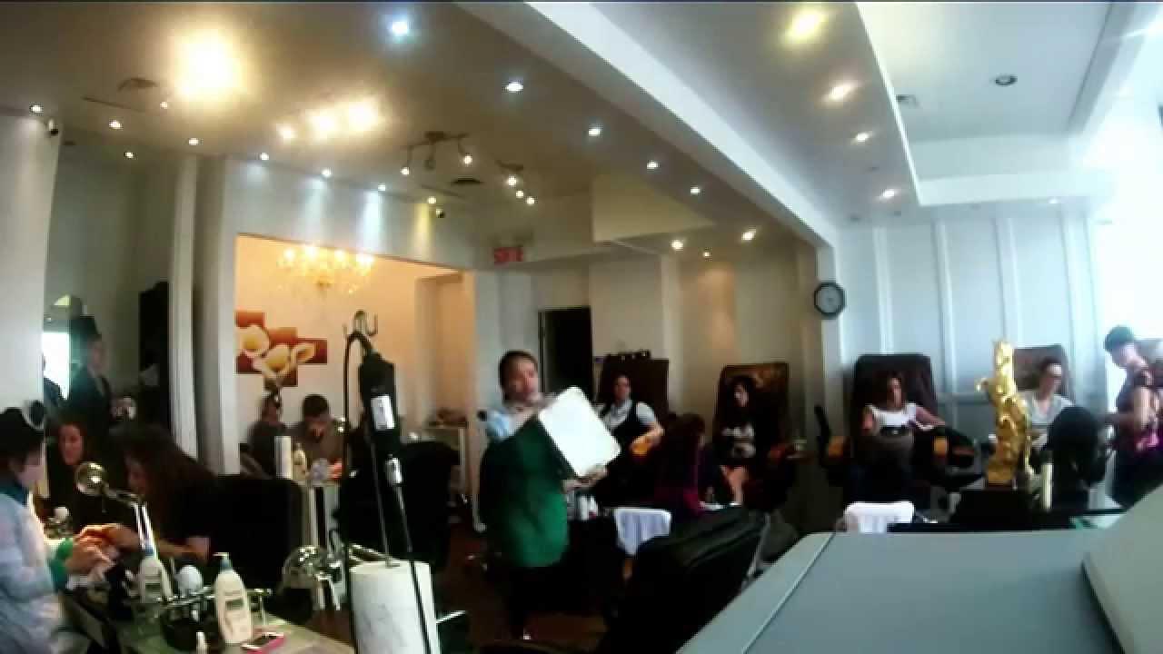 luxury nail salon in westmount - YouTube