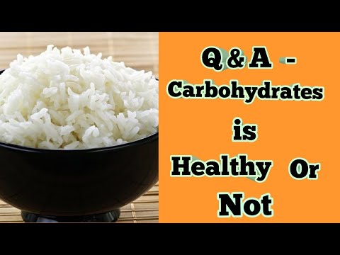 Q&A - Carbohydrates is Healthy or Not - Tamil