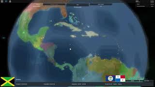 Aufstieg der Nationen: Jamaika vereint Mittelamerika [Roblox Rise of Nations]