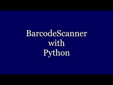 BarcodeScanner with Python